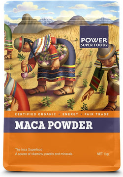 POWER SUPER FOODS Organic Maca Powder (1kg)