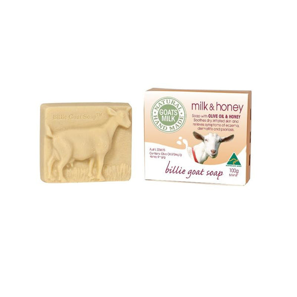 Billie Goat Soap - Milk & Honey (100g)