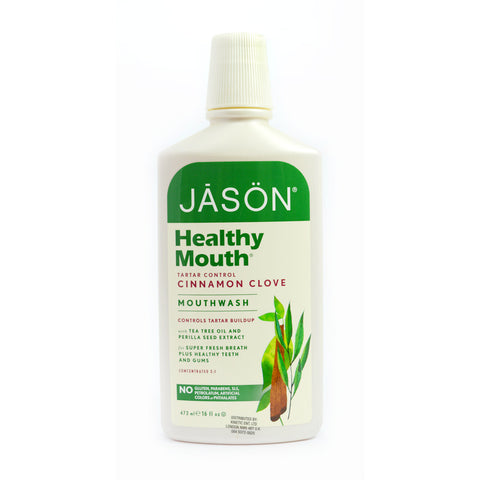 Jason Health Mouth Tartar Control (Cinnamon Clove) Mouthwash (473ml)