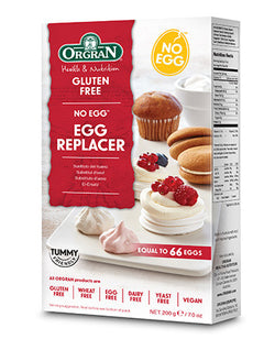 Orgran Gluten Free No Egg, Egg Replacer (200g)