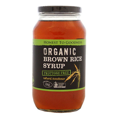 H2G Organic Brown Rice Syrup (1kg)