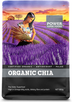 POWER SUPER FOODS Organic Chia (950g)