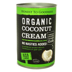 H2G Organic Coconut Cream (400ml)