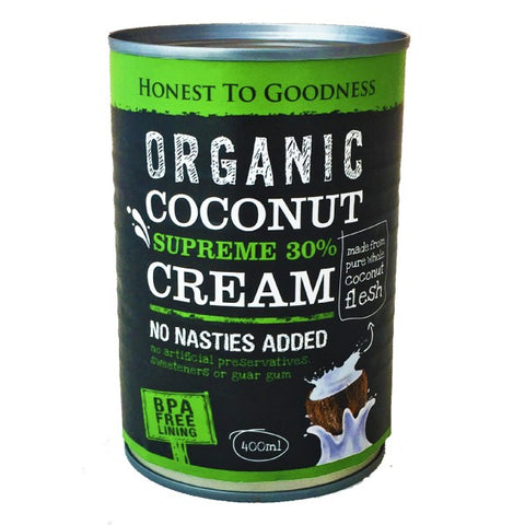 H2G Organic Coconut Supreme 30% Cream (400ml)