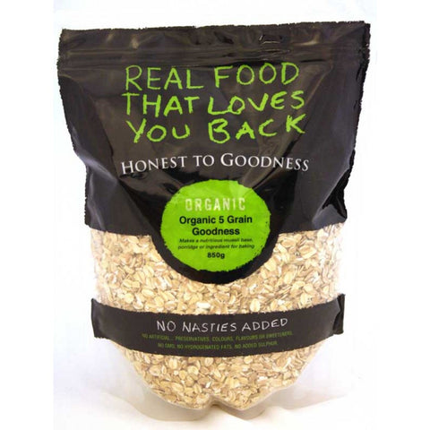H2G Organic Rolled Oats (5kg)