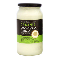 H2G Organic Virgin Coconut Oil (1L)