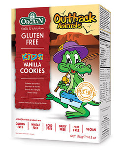 Orgran Outback Animals Vanilla Cookies (175g)