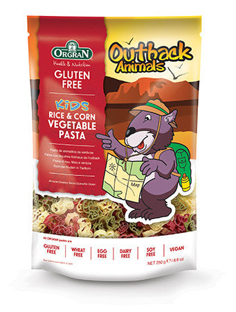 Orgran Outback Animals Vegetable Pasta (250g)