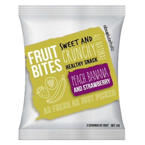 Absolute Fruitz Bites - Peach Banana (15g)
