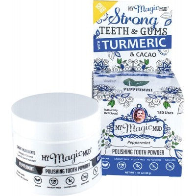 My Magic Mud Polishing Tooth Powder - Peppermint (40g)