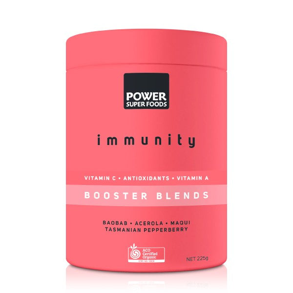 POWER SUPER FOODS Organic Booster Blends Immunity (225g)