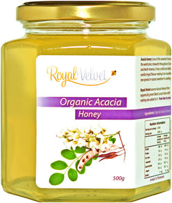 Royal Velvet Organic Acacia Honey (500g)