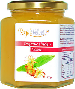 Royal Velvet Organic Linden Honey (500g)