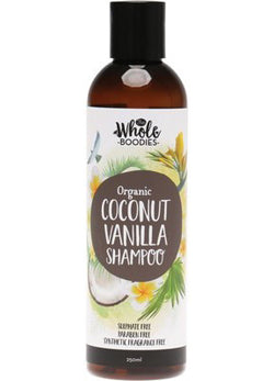 The Whole Boodies Coconut Vanilla Shampoo (250ml)