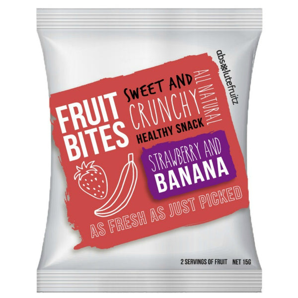 Absolute Fruitz Bites - Strawberry Banana (15g)