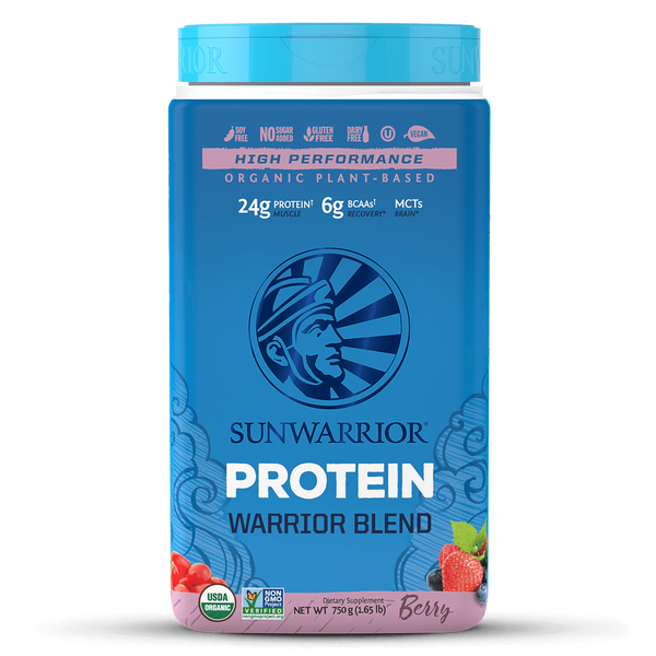 Sunwarrior Warrior Blend Organic Protein - Berry (750g)