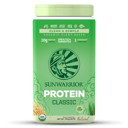 Sunwarrior Classic Organic Rice Protein - Natural (750g)