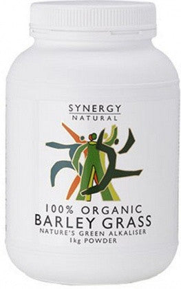 Synergy Natural Organic Barley Grass Powder (1kg)