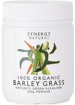 Synergy Natural Organic Barley Grass Powder (200g)