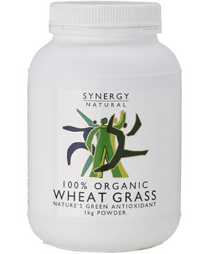 Synergy Natural Organic Wheatgrass Powder (1kg)
