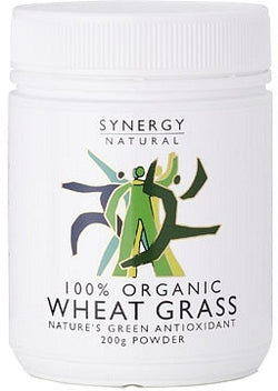 Synergy Natural Organic Wheatgrass Powder (200g)