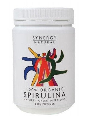 Synergy Natural Organic Spirulina Powder (500g)
