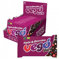 Vego Dark Chocolate Bar - Nuts & Berries (85g)