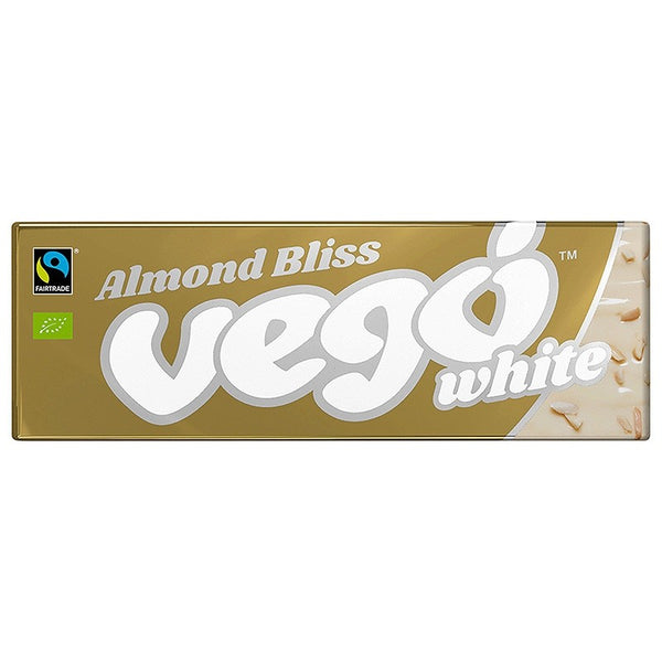 Vego White Chocolate Bar Almond Bliss (50g)