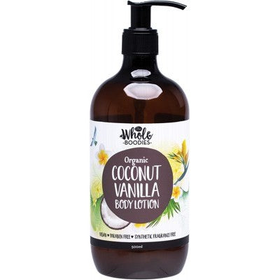 The Whole Boodies Coconut Vanilla Body Lotion (500ml)