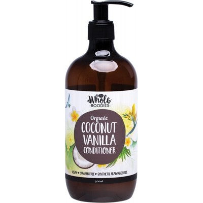The Whole Boodies Coconut Vanilla Conditioner (500ml)
