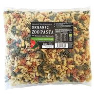 H2G Organic Zoo Pasta with Tomato & Spinach (2kg)