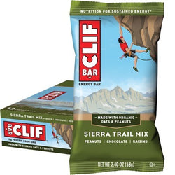 Clif Energy Bar - 12 x Sierra Trail Mix (68g)