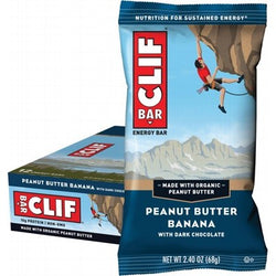 Clif Energy Bar - 12 x Peanut Butter Banana (68g)