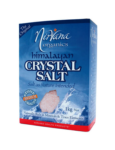 Nirvana Himalayan Crystal Salt Medium - Stone Ground (1kg)