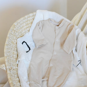 adorable-infant-layette-best-baby-gifts-oatmeal-romper