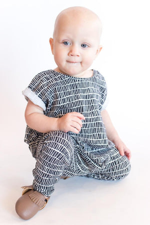 baby-boy-posting-in-handmade-monochrome-kids-romper