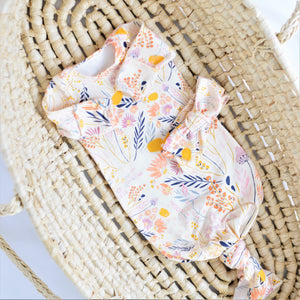 cream-yellow-white-blue-pink-baby-gown-flower-print-newborn-gifts-for-baby-girls