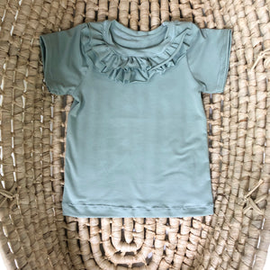 Toddler and Baby Girl's Ruffle tee