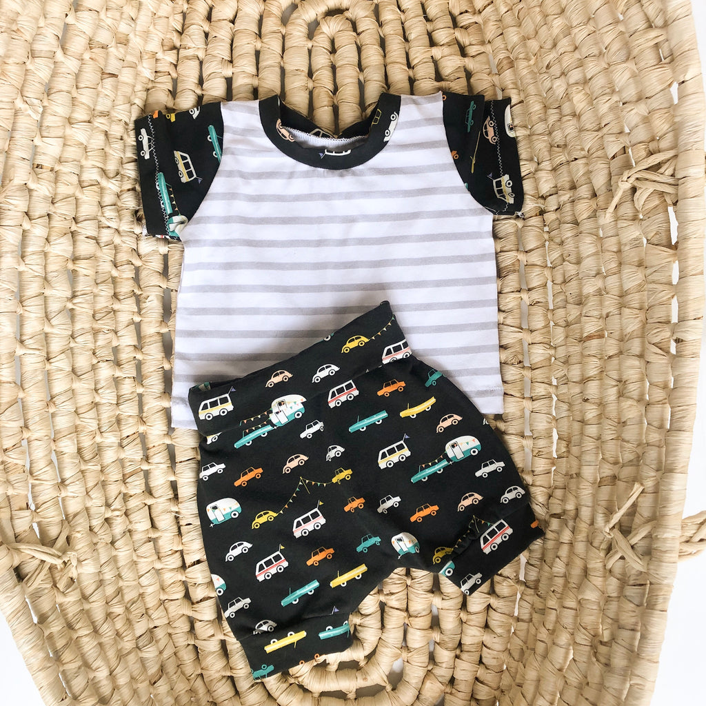 Boys Monochrome Summer Outfit
