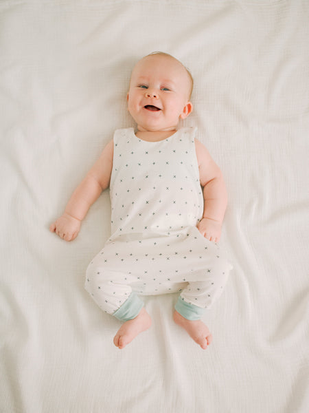 sweet-baby-boy-newborn-pictures-mint-cream-romper-outfit-for-littles