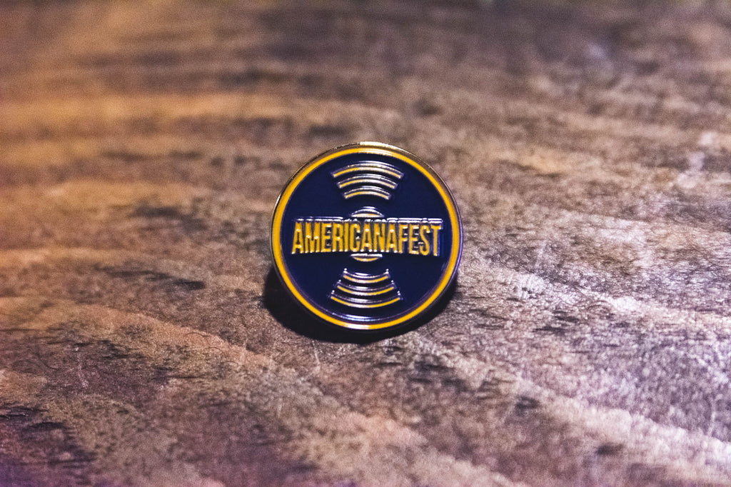 AMERICANAFEST® Record Lapel Pin