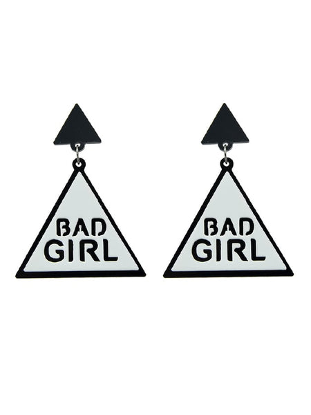 Bad Girl Earrings - Trendi Fashions Boutique