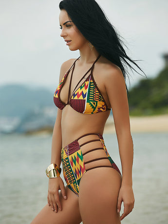 Nefertiti Bikini Top - Trendi Fashions Boutique