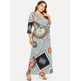 Shanti Wrap Dress