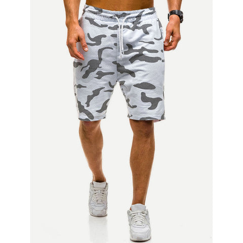 Camo Drawstring Shorts - Trendi Fashions Boutique