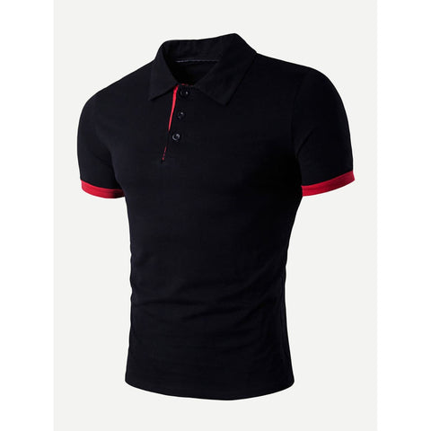 Solid Polo Shirt - Trendi Fashions Boutique