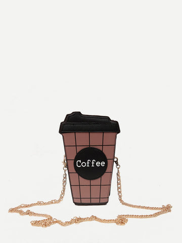 Coffee Chain Bag - Trendi Fashions Boutique