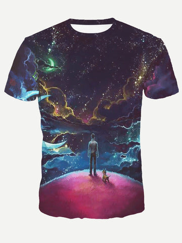 Galaxy Tee - Trendi Fashions Boutique