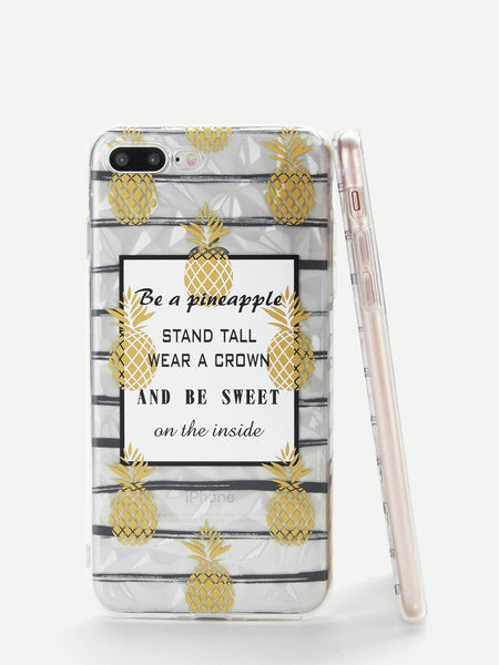 Pineapple iPhone Case - Trendi Fashions Boutique