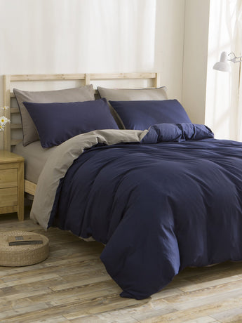 Two Tone Bedding Set - Trendi Fashions Boutique